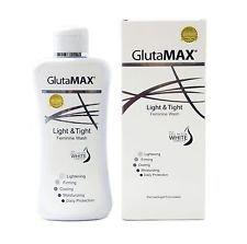 GlutaMAX Light And Tight Feminine Whitening And Tightening Intimate Wash 150ml