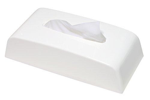 伊勢藤 ティッシュケース ホワイト ティッシュペーパーボックス マグネット付_日本製 I-568