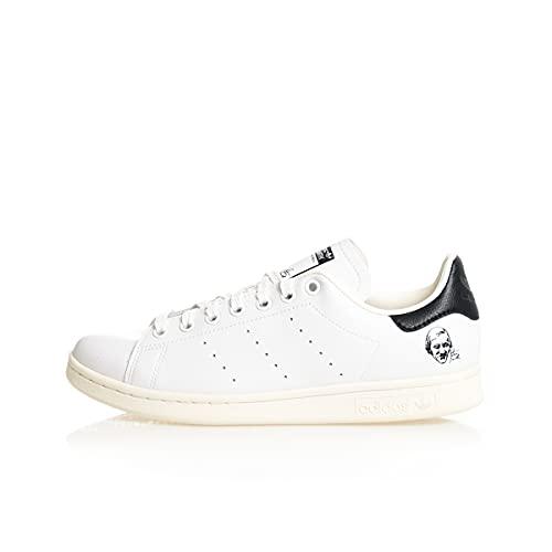 adidas Stan Smith, Zapatillas Deportivas Hombre, Off White FTWR White Core Black, 40 2/3 EU ⭐