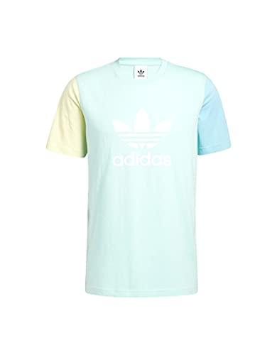 adidas Camiseta Trefoil Azul Claro Hombre M
