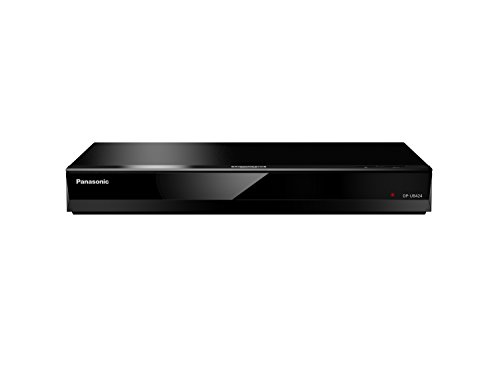 Panasonic DP-UB424EGK Ultra HD Blu-ray Player (4K Blu-ray Disc, 4K VoD, DLNA, 2x HDMI, USB, Alexa Sprachsteuerung, schwarz)