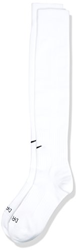 Nike Fussball Socken Classic II Otc, Tm White/Black, M, SX5728-100