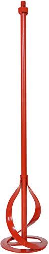 Connex roermachine - Geschikt voor muur- en plafondverf - Ideaal voor mengwaren van 5 tot 30 kg - Voor boormachines & roerwerken/verfbreker/roermachine/roermand M14 opname Ø 120 mm x 590 mm