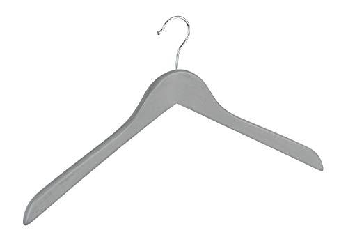 WENKO Kleiderbügel Jolie Grau gekälkt