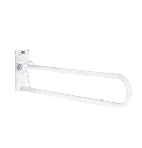 RIDDER Assistent  A0130201 WC Aufstehbügel, Haltegriffe, klappbar, ca. 76 cm, weiß