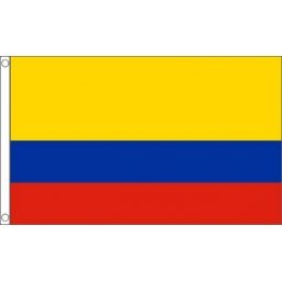. Colombie Drapeau national