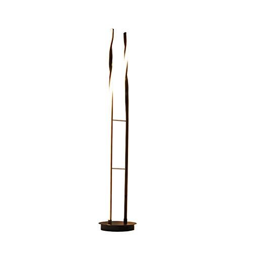 MJBOY staande lamp, led-vloerlamp, traploze dimbare verticale moderne vloerlamp, 40 W vloerlamp voor woonkamer en slaapkamer