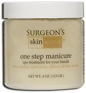 Surgeon's Skin Secret One Step Manicure/Pedicure, Vanilla, 4 Ounce
