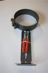 Rohrhalter Halter Ofenrohr Rauchrohr 150 mm Schwarz Halterung