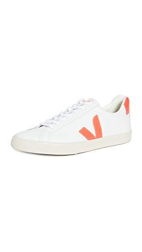 Veja Damen Esplar Sneaker, Weiá (Extra Weiß/Orange/Fluo), 41 EU