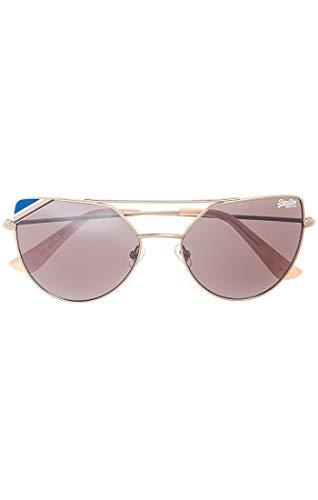 Superdry SDR Amelia Gafas de sol, Multicolor (Matte Silver/Pink), 50.0 para Mujer
