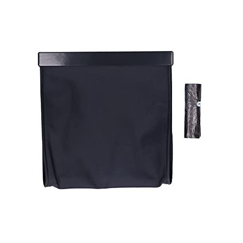 Bote de basura para automóvil, diseño delgado, resistente y duradera, bolsa de arena para automóvil para el hogar para automóviles para oficinas