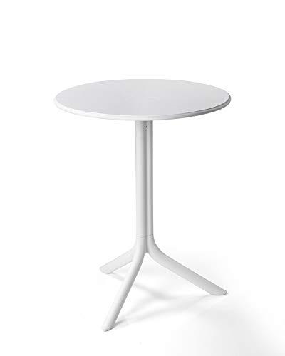 NARDI Tisch SPRITZ, rund 60 cm, weiss