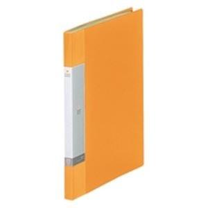 (業務用20セット) LIHITLAB クリアブック/クリアファイル リクエスト 【A4/タテ型】 固定式 20ポケット G3201-5 黄