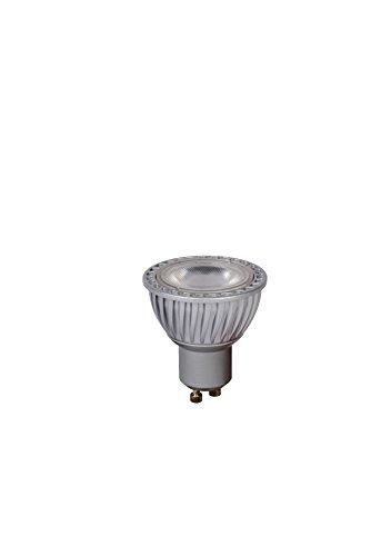 Lucide LED Bulb–Bombilla LED–5cm de diámetro–LED DIM.–GU10–3x 5W 3000K–Gris