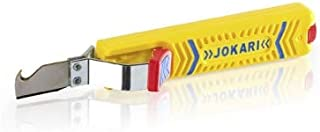 Jokari 10280 Secura Cable Stripping Knife for All Standard Round Cables, No. 28H, 17cm L x 2.9cm W x 3.5cm H
