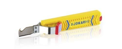 JOKARI®original Kabelmesser Secura Nr.28H zum Abisolieren von Rundkabel (z.B.NYM/NYY) 8 bis 28mm Ø, mit Hakenklinge, Art.Nr. 10280