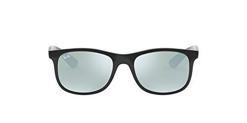 Ray-Ban Unisex-Kinder 9062s Brillengestelle, Schwarz (Matte Black On Black/Flashgrey), 48