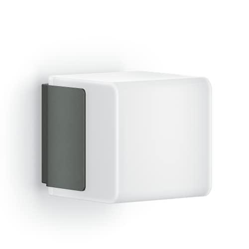 Steinel Außenleuchte L 835 C anthrazit, LED Außenwandleuchte, ohne Sensor, per Bluetooth App vernetzbar, 9,1 W, warmweiß
