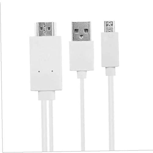Micro Micro Micro USB MIHB Micro USB a HDMI 1080P HDMI Cable adaptador AV, para tableta de teléfono Android Una conexión más fuerte
