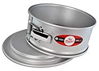 Fat Daddio's PSF-83 Springform Cake Pan, 8 x 3 Inch, Silver