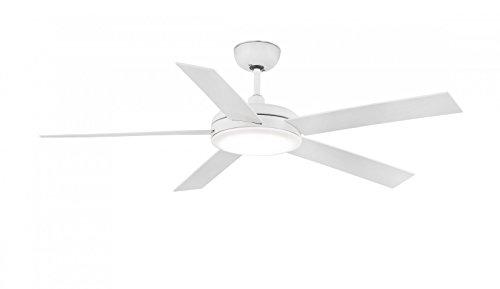 Unbekannt Ventilador de techo Faro Nova 132 cm con lámpara LED