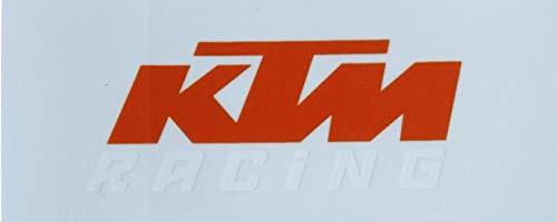 KTM Logo Sticker ORANGE/White Original PowerWear