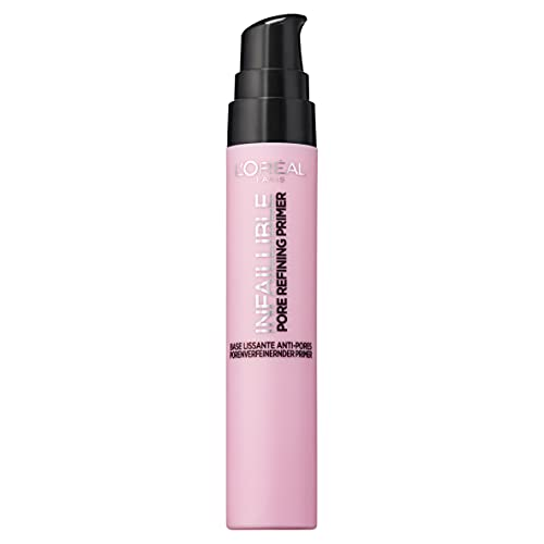 L'Oréal Paris PreBase de Maquillaje Reductora de Poros 24h, Tono 06 Pore...