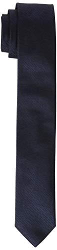 HUGO Mens Tie cm 5 Necktie, Dark Blue (405), ONESI