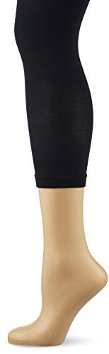 KUNERT Damen 3/4 Leggings Velvet, 40 Den, Blau (Marine 0880), 44/46