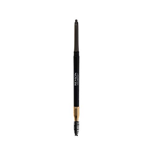 Revlon ColorStay Eyebrow Pencil with Spoolie Brush, Waterproof, Longwearing, Angled Tip Applicator for Perfect Brows, Soft Brown (210)