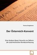 Krieglsteiner Thomas: Der Oesterreich-Konvent