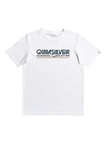 Quiksilver Like Gold, Camiseta Niños, Opacity, White, L/14