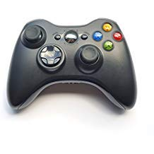 Crifeir Wireless Controller for Xbox 360(Black)
