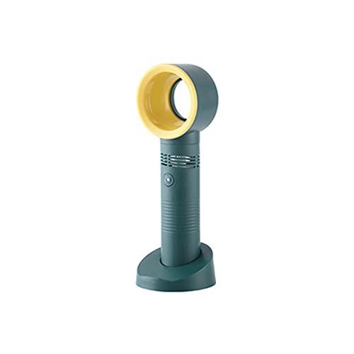 Mini-Desktop-Lüfter,Handheld-USB-Lüfter für Kinder,leiser blattloser Lüfter mit DREI Windschutzscheiben Fernbedienung Turmventilator für Zuhause,Büro,Schlafzimmer