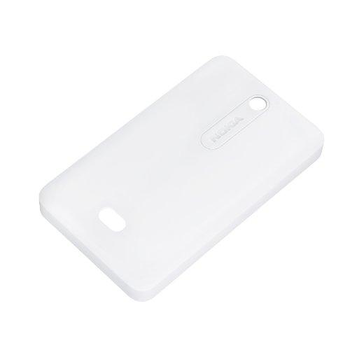 Nokia Custodia Morbida per Modello Asha 501, Bianco