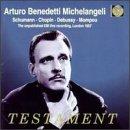 Arturo Benedetti Michelangeli: Schumann / Chopin / Debussy / Momp (1996-11-01)