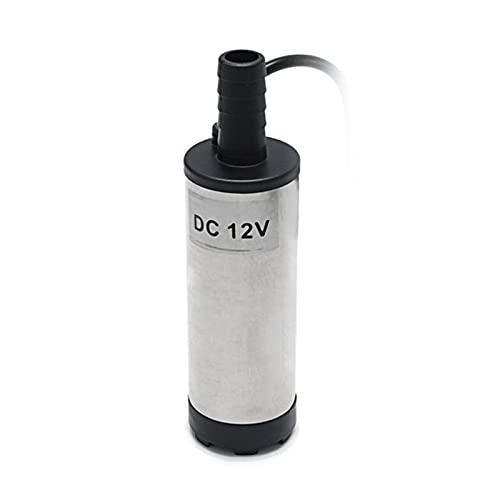 Qagazine Rvs Dompelpomp 12 V Transfer Pomp voor Water Diesel Olie Kerosine Bijtanken Tool