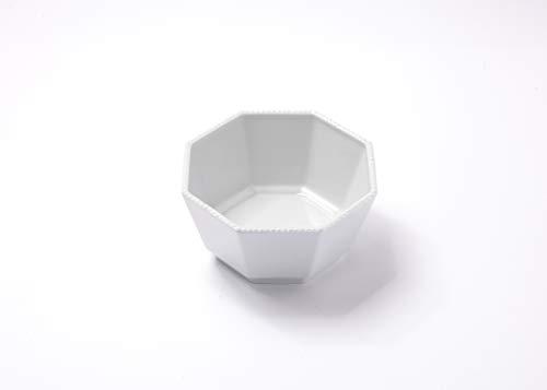 Reichenbach Porzellan Schale - Schüssel aus der Serie Taste von Paola Navone - Oktagonal 15 cm – Weiss
