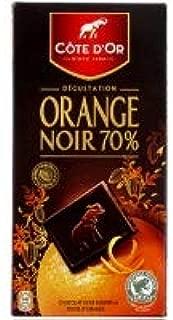 Cote D'Or Fin Noir Orange 100g