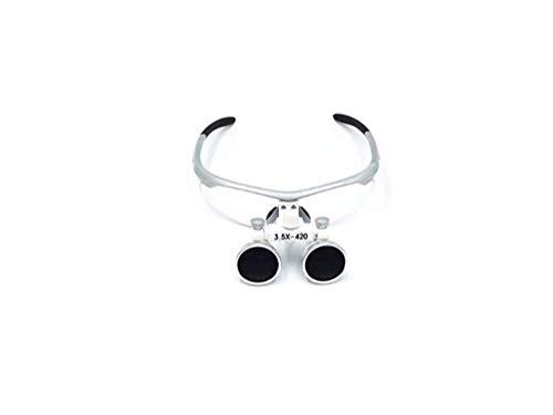 HYYQG Lupas Binoculares Dentales 3.5X - 420Mm Distancia De Trabajo Lupas Binoculares Quirúrgicas Gafas