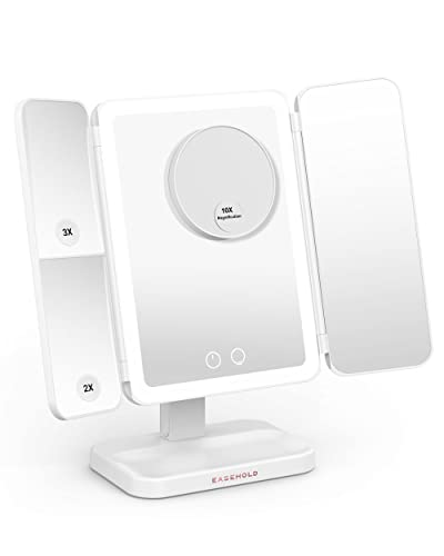 EASEHOLD Makeup Mirror Vanity Mirror with Lights 38 LED Lighted Mirror...