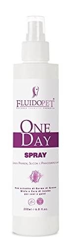 FLUIDOPET ONEDAY Spray – NUTRIENTE RIGENERANTE E CONDIZIONANTE da 200 ML.