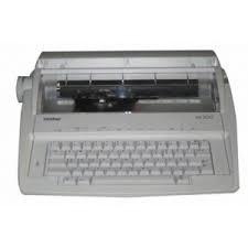 Brother AX-300 Portable Schreibmaschine