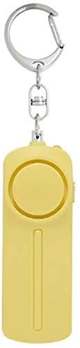 Alarma personal SLB Alarmas de seguridad Llavero con linterna LED Aprobado por la polica Mini 140DB Autodefensa Ataque de pnico Violacin Alarmas de seguridad para mujeres Nios y caminantes no