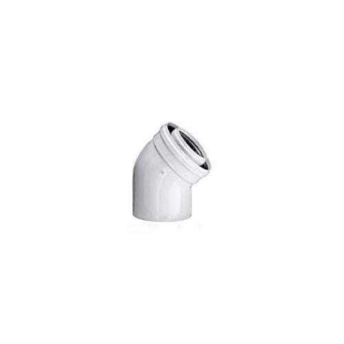 TEN tolerie - Coude 45° T.E.N D60/100 - TEN400560