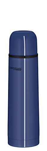 ThermoCafé by THERMOS 4058.256.050 Thermosflasche Everyday, Edelstahl Blau 0,5 l, Drehverschluss mit Trinkbecher, BPA-Free