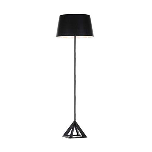 WYFX Lámpara de pie Lámpara de pie con Base Triangular Lámpara de pie con Personalidad Elegante Sala de Estar Dormitorio Sofá de Estudio Mesa de Centro Lámpara de Lectura de pie Lámpara de pie (C