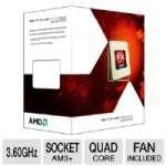 Amd Fd4100Wmgusbx Fx-4100 Processor - Quad Core, 8Mb L3 Cache, 2