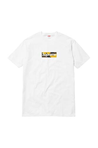 Supreme Brooklyn Box Logo Tee White - Size Medium-EU